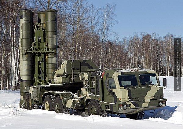 Китай получил первый полк российской системы ПВО С-400