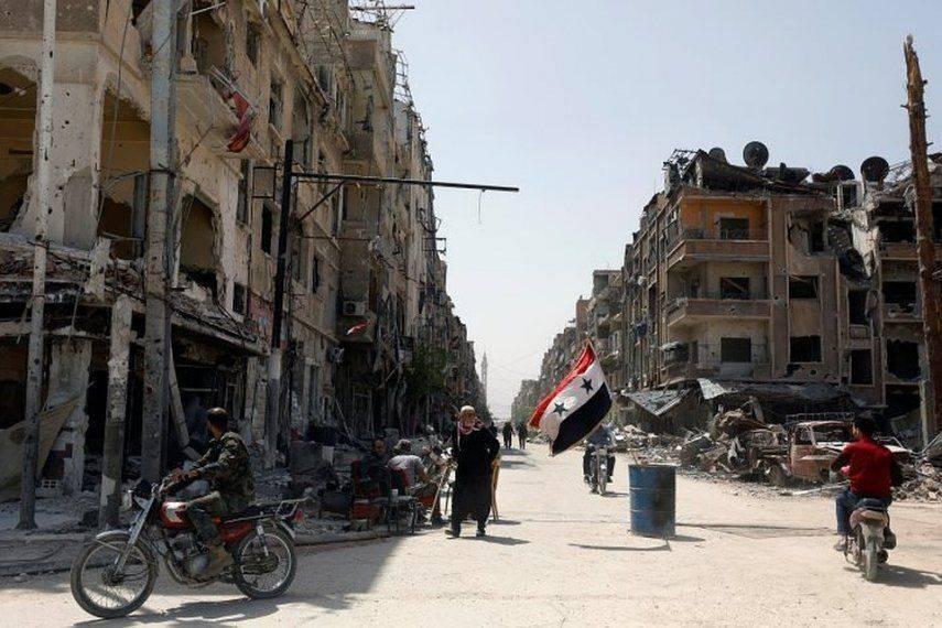 Заседание ОЗХО в Гааге: доказана имитация химатаки в сирийской Думе 1524780553_3