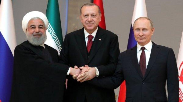 Итоги встречи Путина, Эрдогана и Рухани: все противоречия будут разрешены