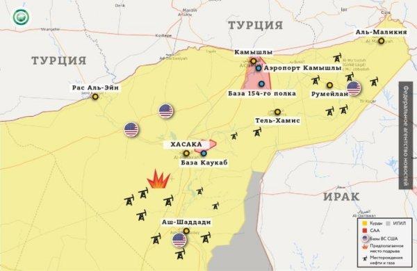 Союзники США укрепляются в Дейр эз-Зоре: ситуация в провинции видна на карте