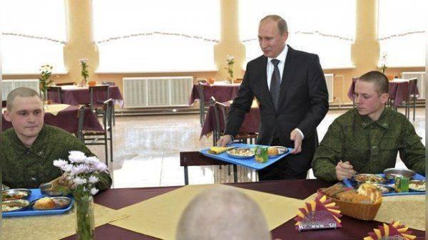 Как Путин заступился за буфетчицу в офицерской столовой