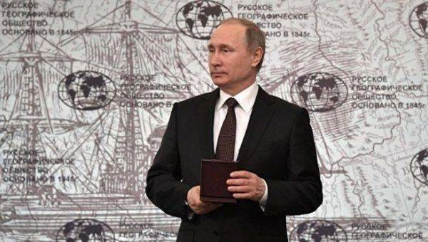 Путин одобрил предложенное школьницей название нового острова в Арктике