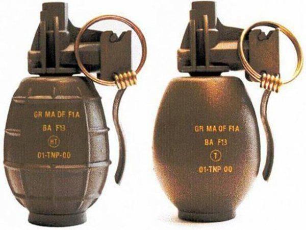 Смерть в кулаке:  Пять самых необычных ручных гранат в мире