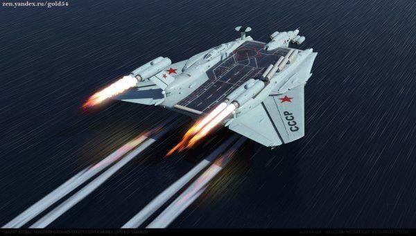 Экраноплан – новая опасность для авианосцев стран НАТО