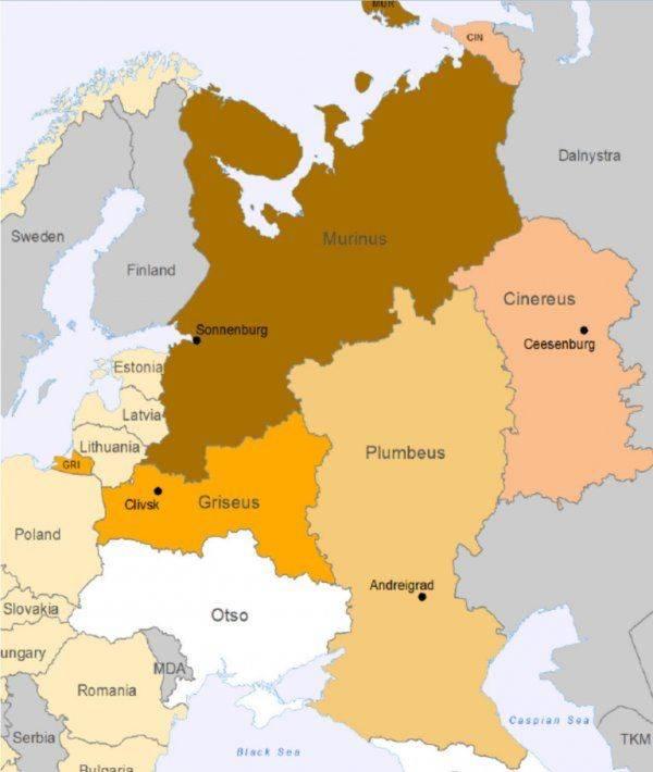 Раздел России эстонским «ежом»