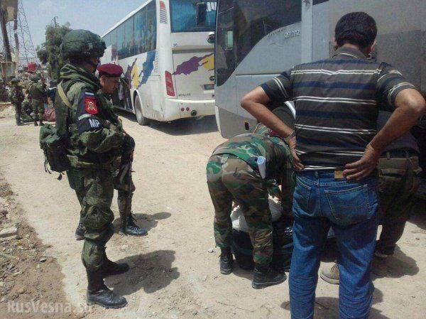 «Вежливые люди» отобрали у сотен «смертников» оружие и выгнали из Ярмука