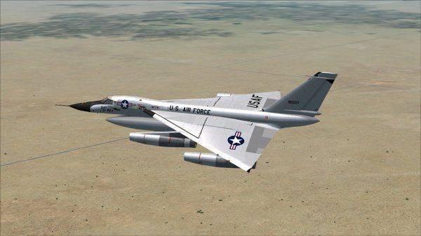 B-58 Hustler - ракетно-ядерный убийца