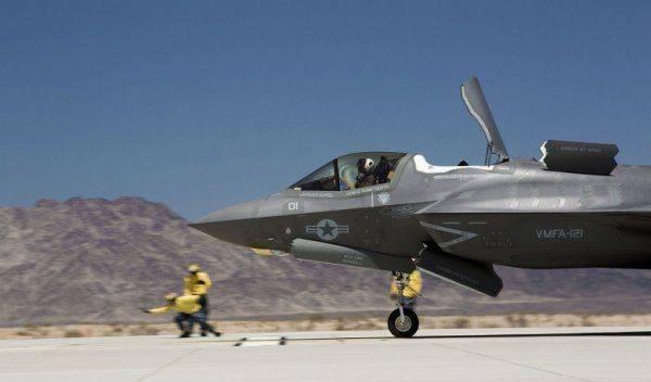Негодная военная техника США: пожар на американском F-35B. Причины и последствия