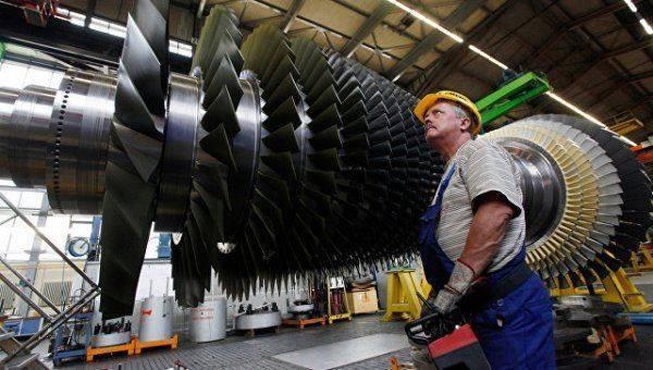 Россия сама начнет выпускать аналоги турбин Siemens