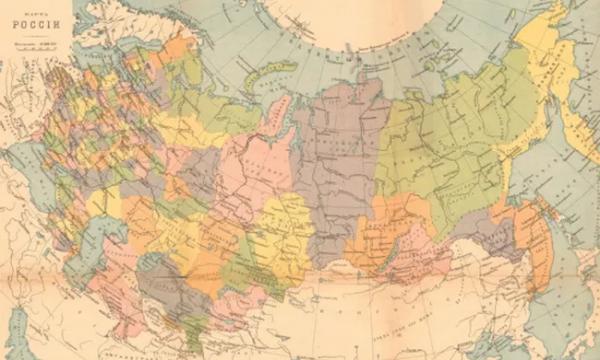 Три карты, или Куда исчезли русские?