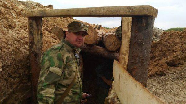 Бойцы ДНР готовятся подорвать позиции ВСУ из подземелья