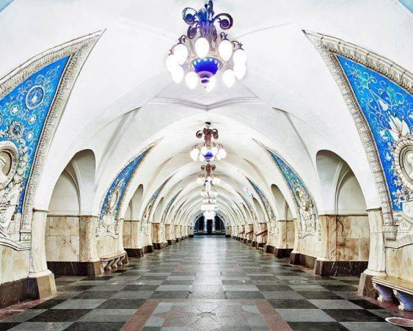 Американка о московском метро: Не думала, что русские способны такое построить
