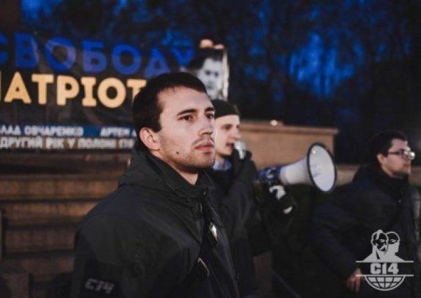 Обыск у лидера «С14»: кто подтачивает опору режима Порошенко?