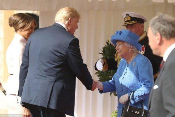Как Трамп встречался с Елизаветкой