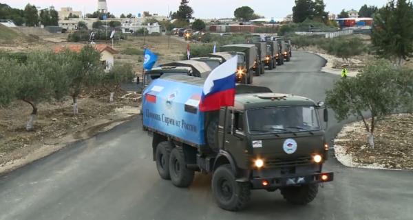 Первая партия гуманитарной помощи Сирии от Армении отправилась в Алеппо