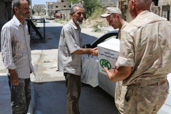 В районах Алеппо прошла адресная благотворительная акция
