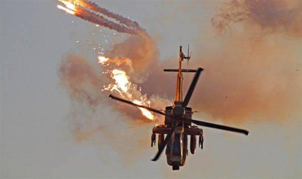 Курды сбили вертолет Apache ВВС США на территории Сирии