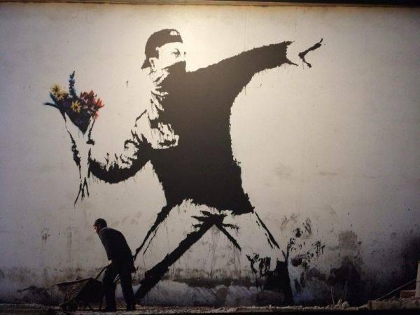 Вандал или гений в самом центре Москвы?