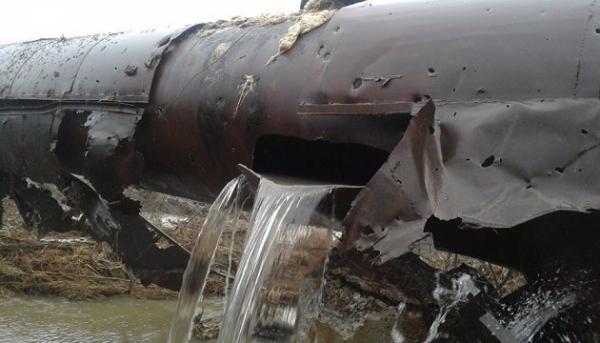 43 тысячи человек остались в Донбассе без воды