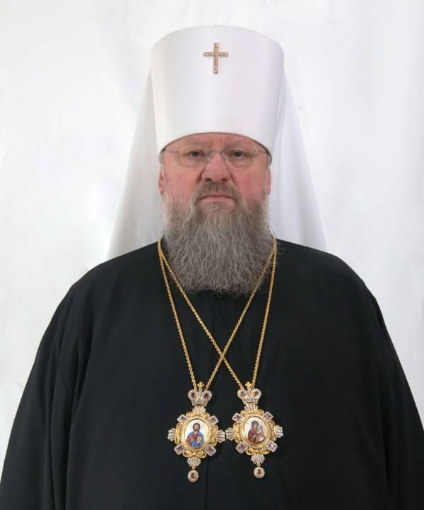 СБУ не пустила митрополита Донецкого и Мариупольского через линию разграничения в Донбассе