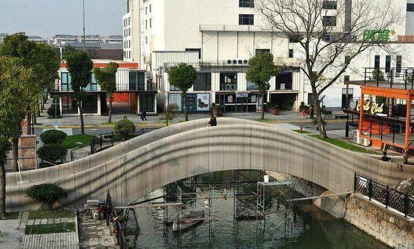 Китайцы распечатали мост на 3D-принтере