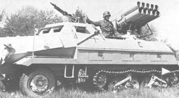 «Катюши» Гитлера: кто первым применил реактивную артиллерию