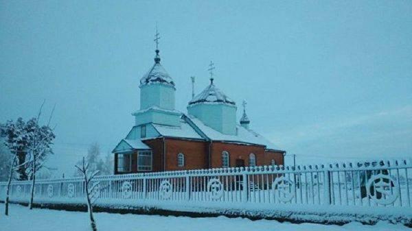 На западе Украины раскольники захватили храм УПЦ