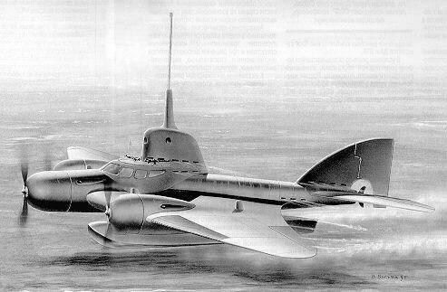 Летающая субмарина: самый фантастический проект СССР