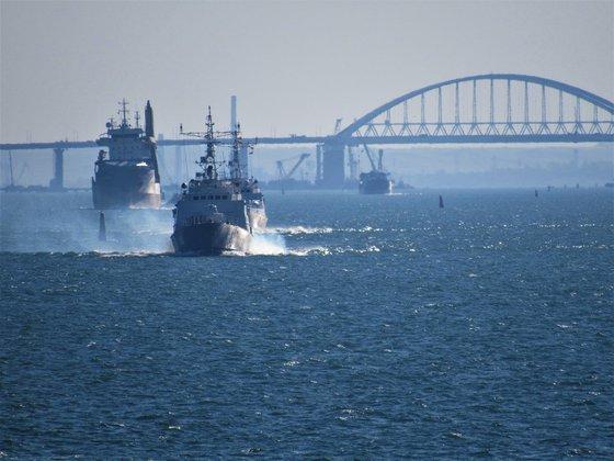 Украина готовит новый прорыв в Керченском проливе, с поддержкой ВМС  западных партнеров