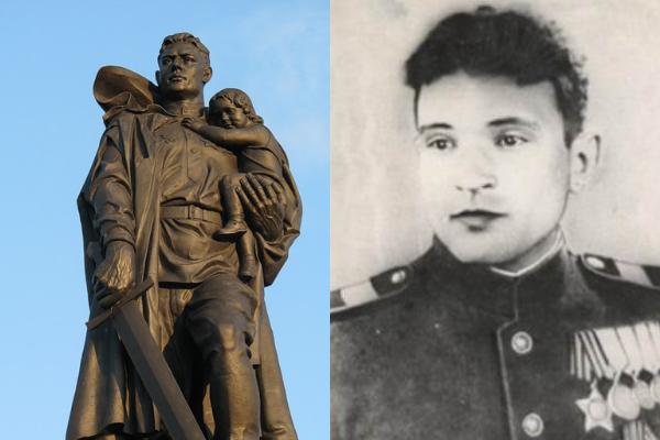 Как сержант Масалов, прототип Воина-освободителя, на самом деле спас девочку в Берлине