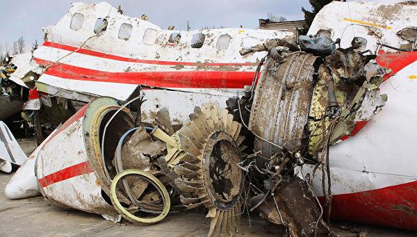 Названа причина катастрофы с польским президентом на борту
