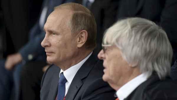 Times: Экклстоун признался, что заслонил бы Путина от пули