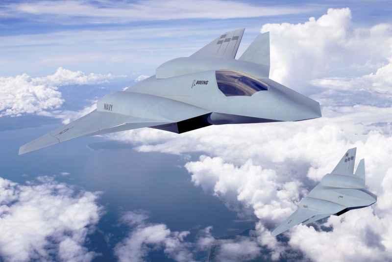 Самолеты шестого поколения сша