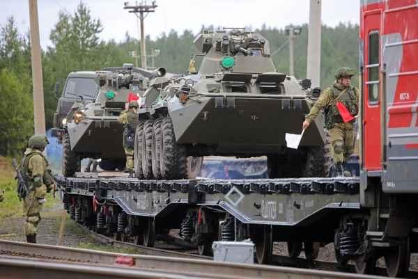 В ЦВО проходят масштабные учения войск материально-технического обеспечения