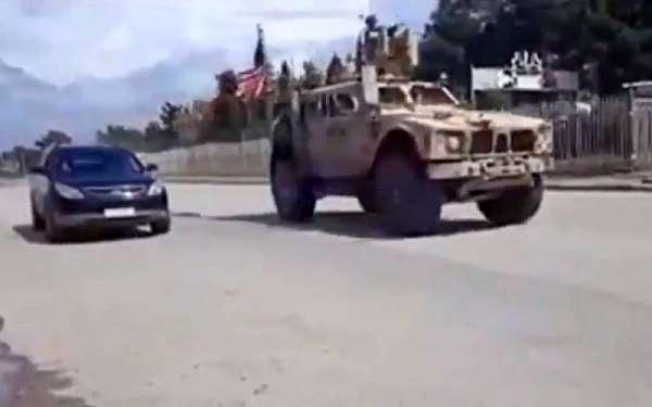 Американские военные устроили погоню за российским патрулем в Сирии