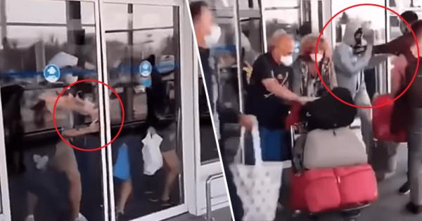 Наплевать на угрозу к-вируса: Украинцы начали крушить аэропорт, прорываясь в Киев