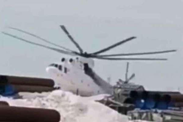 Самый большой в мире российский вертолет разбился при посадке