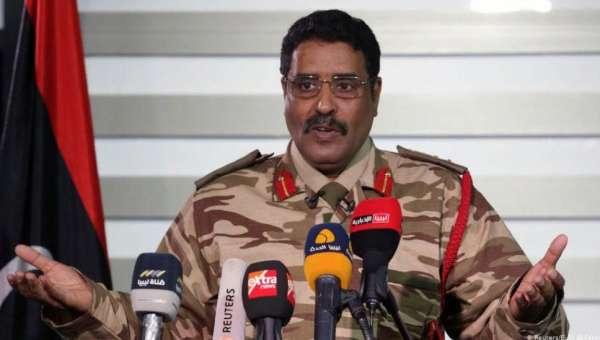 Ахмад Мисмари: армия Хафтара продолжает наступление на Триполи