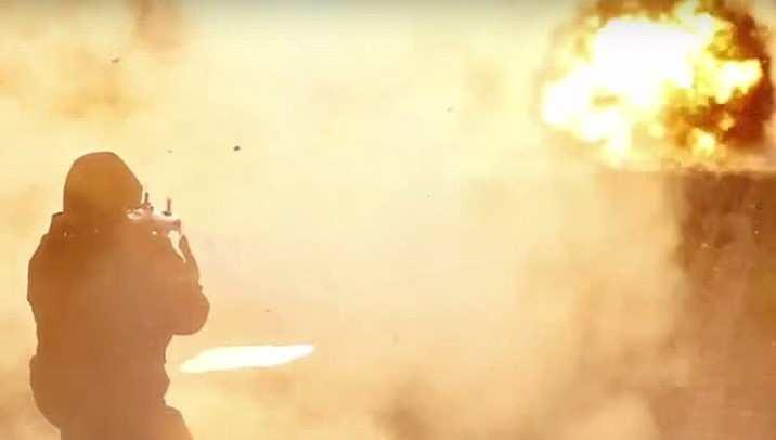 Американский военный конвой, направлявшийся в Сирию, уничтожен ракетным ударом