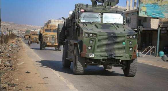 В Сирию вторглись сотни танков и БТРов
