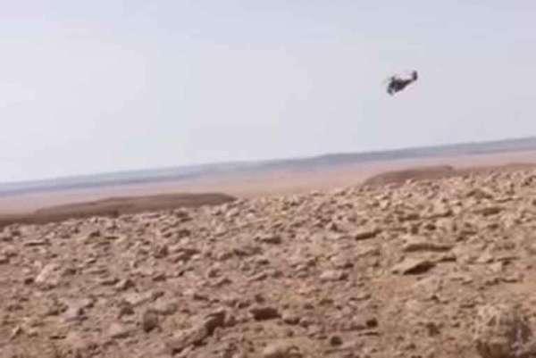«Спасибо, пацаны!»: в Сети опубликованы кадры спасения сбитого в Ливии русского пилота