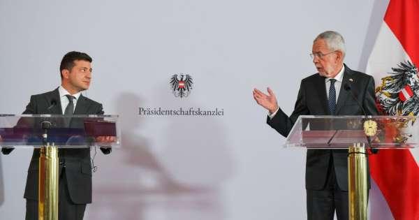 Президент Австрии обломал Зеленского с «эффектом Навального»