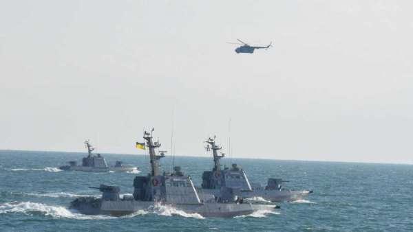 Российские военные корабли разогнали американских и украинских военных на их собственных учениях