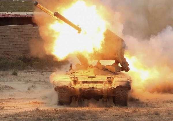 «Огненный смерч» в Карабахе: армия НКР уничтожила вражеский «Солнцепёк»
