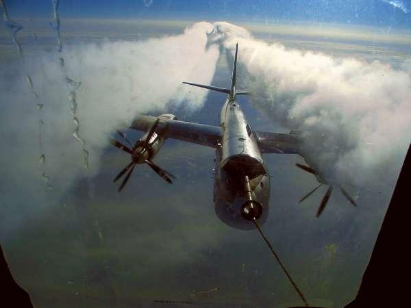 1966 год . Лицом к лицу с «Медведем». Шок первой встречи США с советским Ту-95