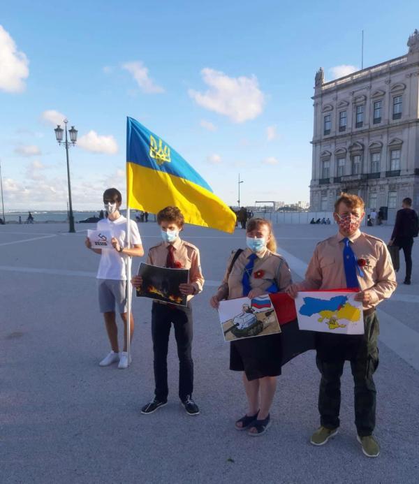 Украинские эмигранты в Португалии начали воевать с португальскими коммунистами